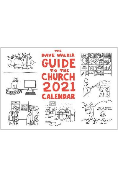 Dave Walker Guide to the Church 2021 Calendar