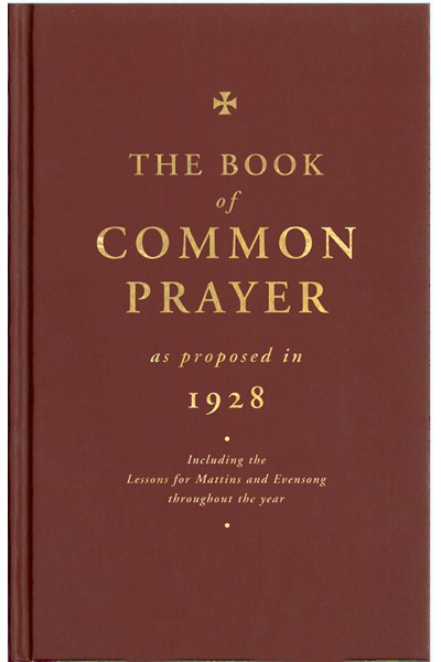 Book of Common Prayer as Proposed in 1928