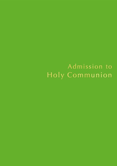 Admission to Communion Register